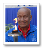 Sri Chinmoy – World Harmony Run founder